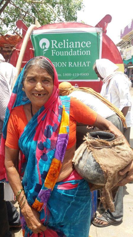 Nita Ambani's Reliance Foundation-Mission Rahat at Marathwada