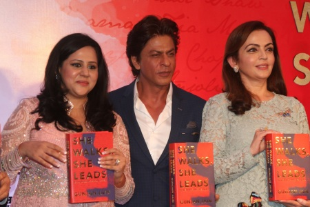 Nita Ambani at the Book Launch Event